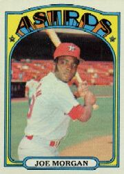 1972 Topps Baseball Cards      132     Joe Morgan